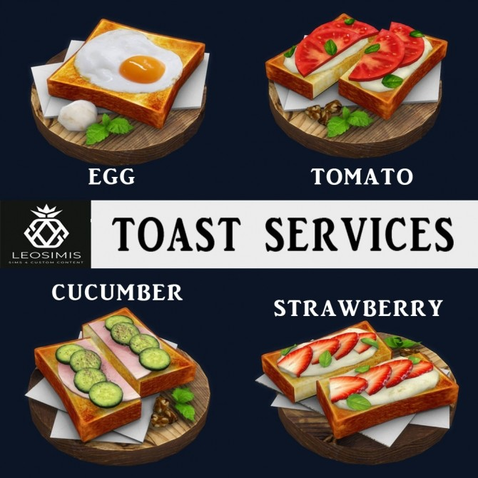 Toast Services (P) at Leo Sims image 1155 670x670 Sims 4 Updates