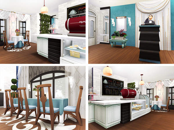 Gloria Restaurant by Rirann at TSR image 1160 Sims 4 Updates