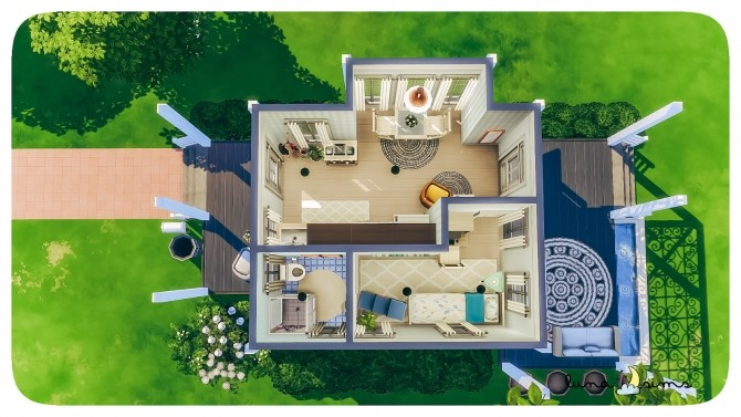 Sims 4 WILLOW CREEK STARTER at Luna Sims
