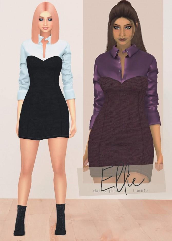 Ellie Dress at Daisy Pixels image 1163 670x937 Sims 4 Updates
