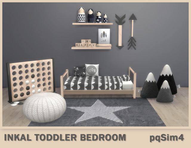 Sims 4 Inkal Toddler Bedroom at pqSims4
