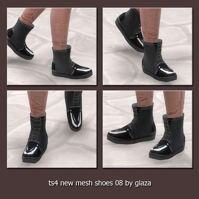 Sims 4 Shoes 08 (P) at All by Glaza