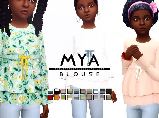 Mya Blouse at Onyx Sims image 11713 670x497 Sims 4 Updates