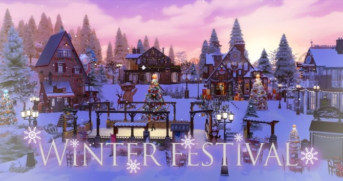 Winter Festival at Ruby's Home Design image 1184 670x355 Sims 4 Updates