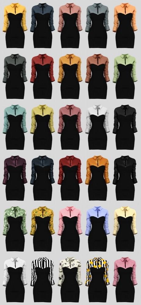 Ellie Dress at Daisy Pixels image 1193 463x1000 Sims 4 Updates