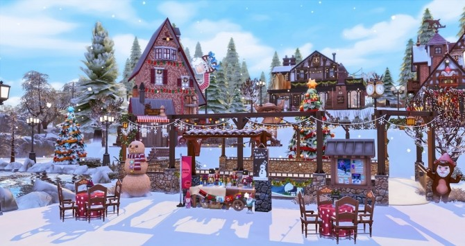 Winter Festival at Ruby's Home Design image 1194 670x355 Sims 4 Updates