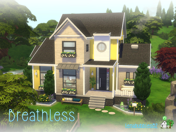 Breathless house by lenabubbles82 at TSR image 1200 Sims 4 Updates