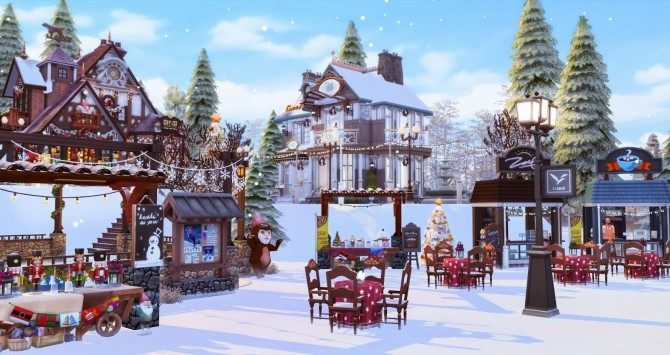 Winter Festival at Ruby's Home Design image 1204 670x355 Sims 4 Updates
