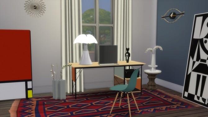 Sims 4 DESK UNIT EDU at Meinkatz Creations