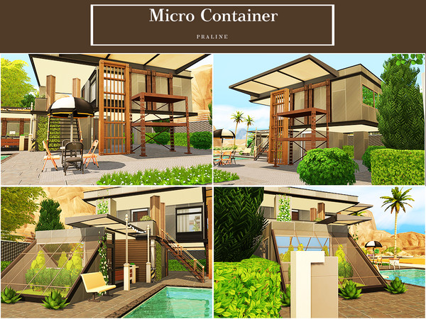 Micro Container by Pralinesims at TSR image 1216 Sims 4 Updates