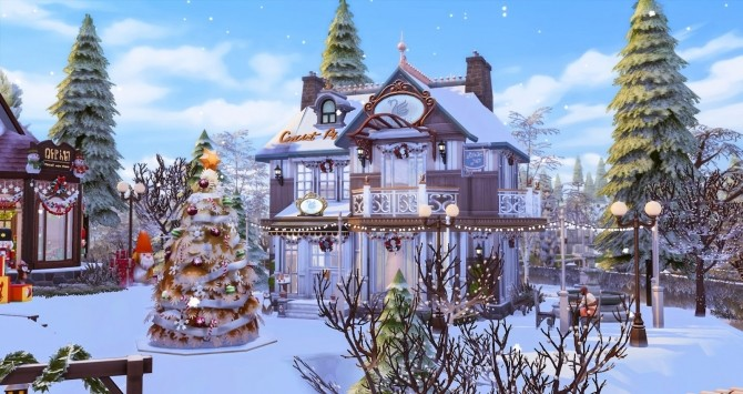 Winter Festival at Ruby's Home Design image 1223 670x355 Sims 4 Updates