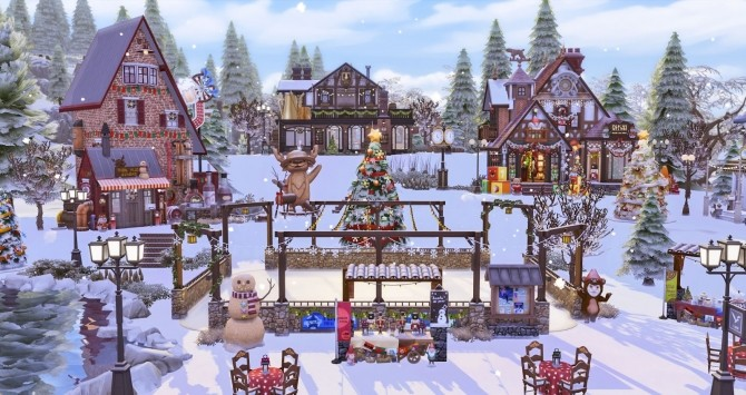 Winter Festival at Ruby's Home Design image 1233 670x355 Sims 4 Updates