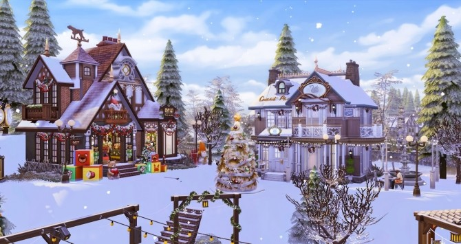 Winter Festival at Ruby's Home Design image 1242 670x355 Sims 4 Updates