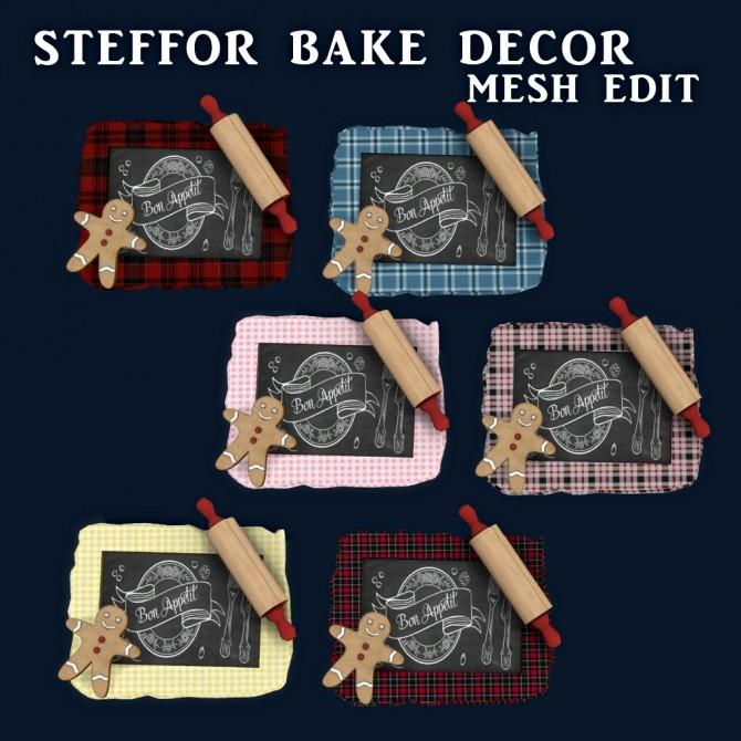 Sims 4 Bake Decor at Leo Sims