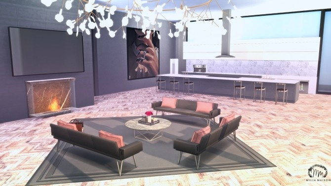 ANGEL HEIGHTS Apartment at Milja Maison image 12515 670x377 Sims 4 Updates