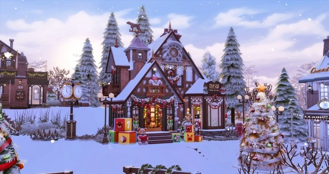 Winter Festival at Ruby's Home Design image 1254 670x355 Sims 4 Updates