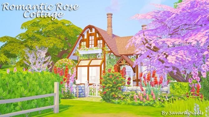 Romantic Rose Cottage at Savara's Pixels image 12612 670x377 Sims 4 Updates