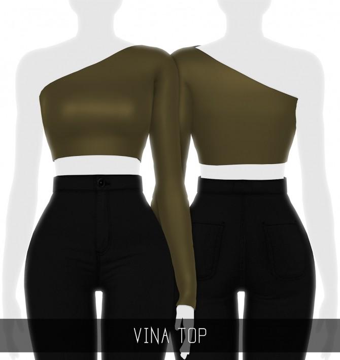 VINA TOP at Simpliciaty image 1295 670x709 Sims 4 Updates