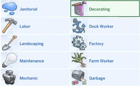 Sims 4 MANUAL LABOR CAREER PACK at MIDNITETECH'S SIMBLR