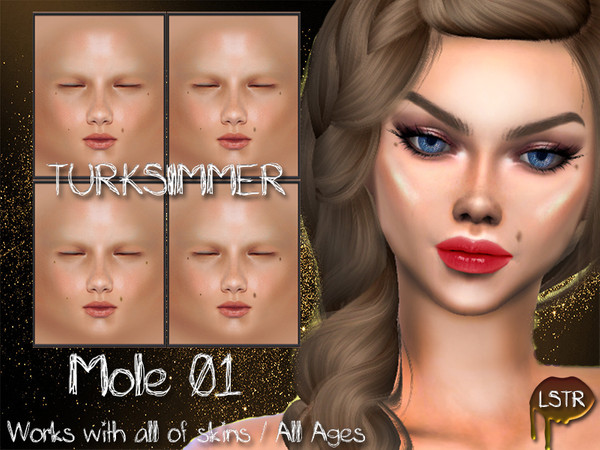 Sims 4 Mole 01 by turksimmer at TSR