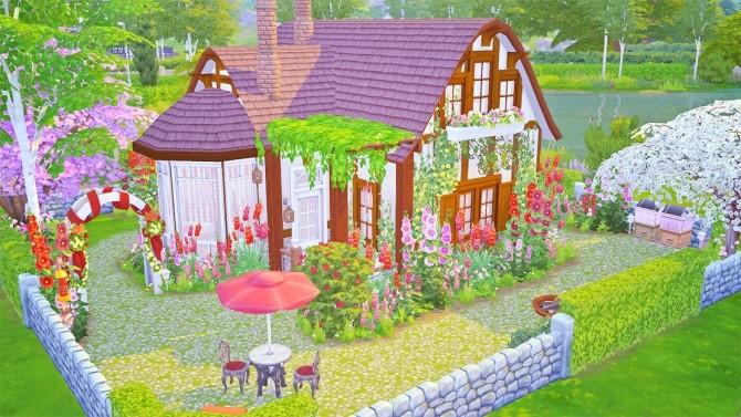 Romantic Rose Cottage at Savara's Pixels image 13011 670x377 Sims 4 Updates