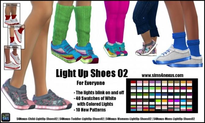 Sims 4 Light Up Shoes 02 by SamanthaGump at Sims 4 Nexus