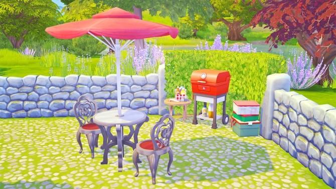 Romantic Rose Cottage at Savara's Pixels image 13116 670x377 Sims 4 Updates