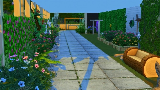 Sims 4 Beach House at MODELSIMS4