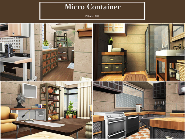 Micro Container by Pralinesims at TSR image 1316 Sims 4 Updates
