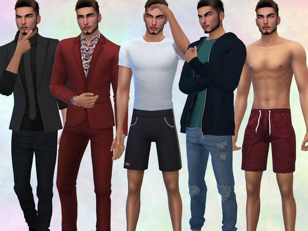 Sims 4 Mark Wilson by divaka45 at TSR
