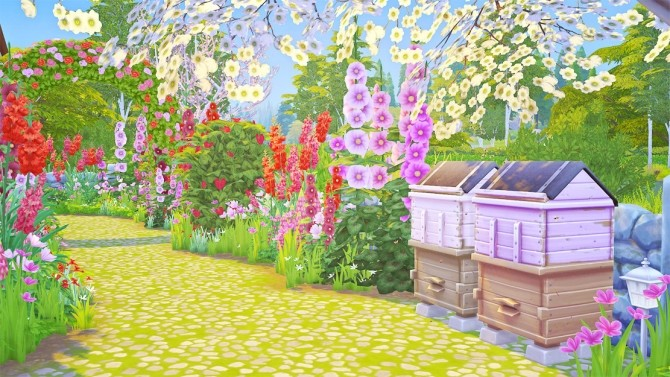 Romantic Rose Cottage at Savara's Pixels image 13214 670x377 Sims 4 Updates