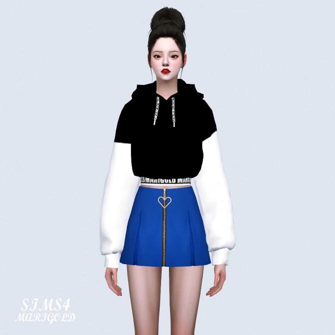 Heart Mini Pleats Skirt at Marigold image 1331 670x670 Sims 4 Updates