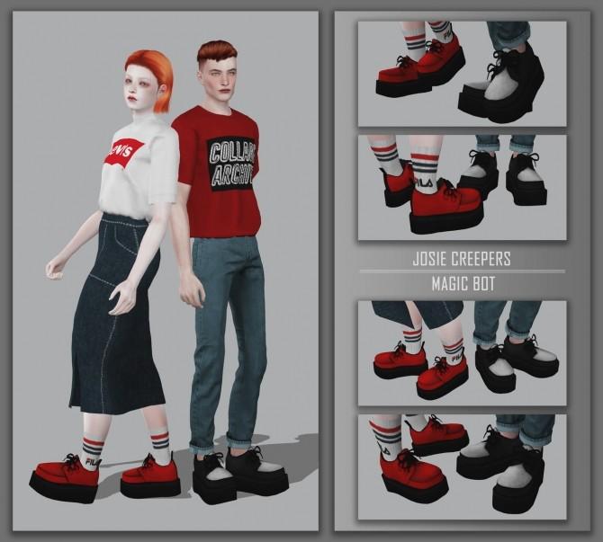 Sims 4 JOSIE CREEPERS at Magic bot