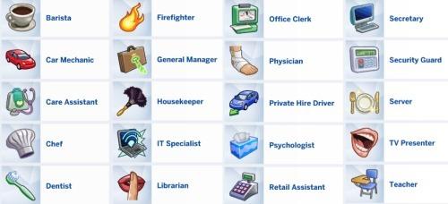 Sims 4 9 5 CAREER PACK at MIDNITETECH'S SIMBLR
