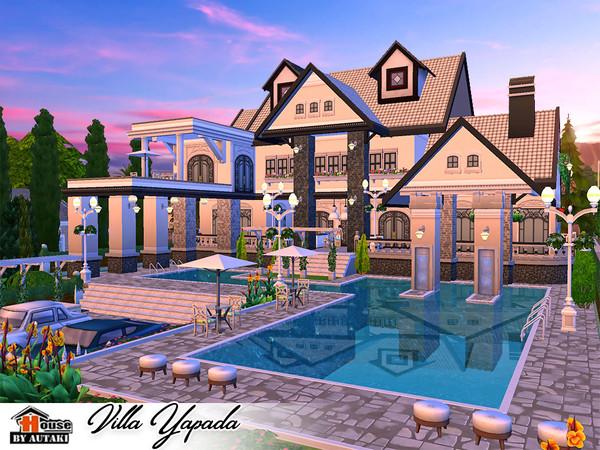 Villa Yapada NoCC by autaki at TSR image 1390 Sims 4 Updates
