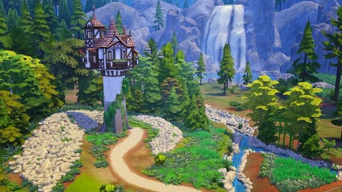 Rapunzels Tower at Akai Sims – kaibellvert image 1433 670x377 Sims 4 Updates