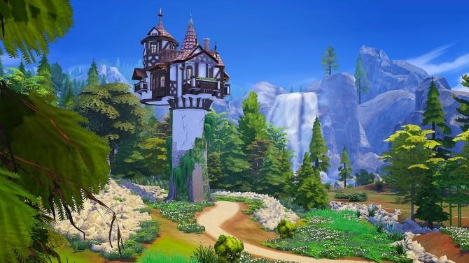 Rapunzels Tower at Akai Sims – kaibellvert image 1444 670x377 Sims 4 Updates