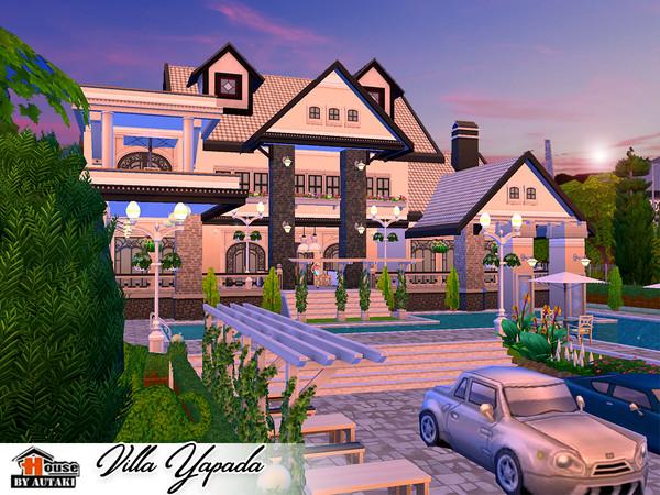 Villa Yapada NoCC by autaki at TSR image 1460 Sims 4 Updates
