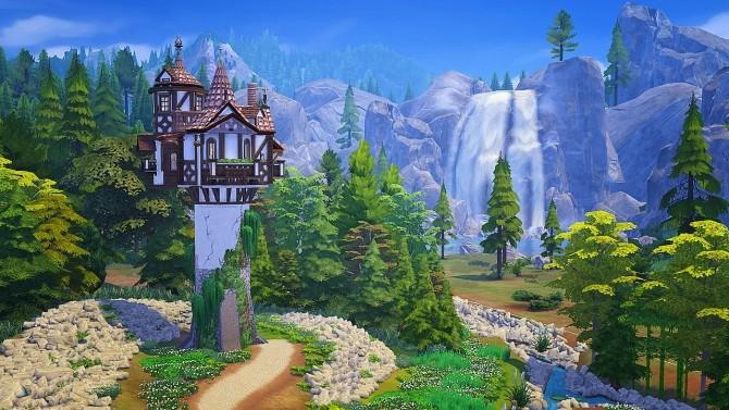 Rapunzels Tower at Akai Sims – kaibellvert image 1473 670x377 Sims 4 Updates