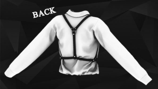 Sims 4 Harness Shirt at Gorilla