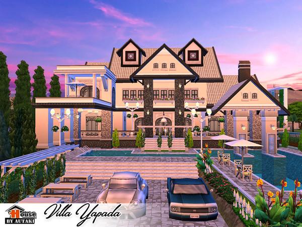 Villa Yapada NoCC by autaki at TSR image 1540 Sims 4 Updates