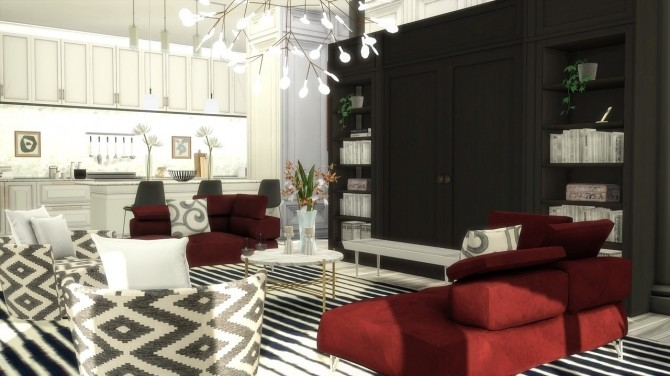 Sims 4 Murray Hill Penthouse at The Huntington
