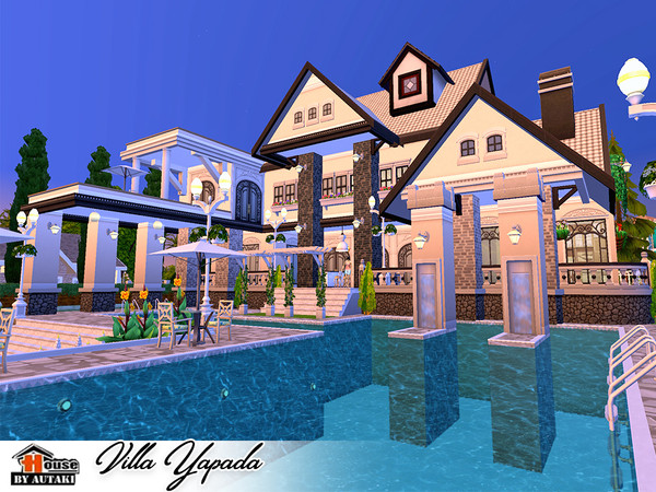 Villa Yapada NoCC by autaki at TSR image 1649 Sims 4 Updates