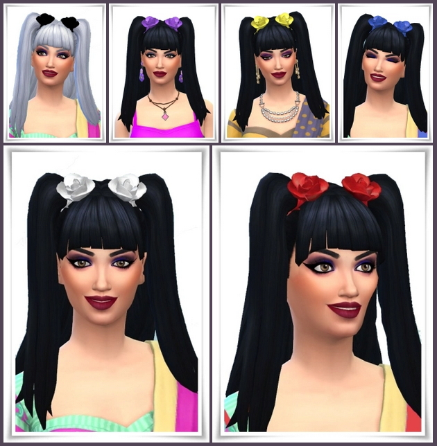 Sims 4 Nina Hair at Birksches Sims Blog