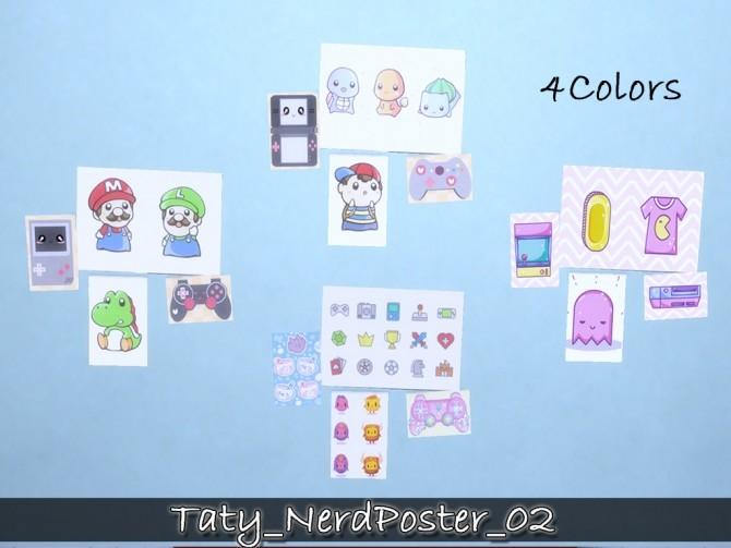 Nerd posters 02 at Taty – Eámanë Palantír image 1674 670x503 Sims 4 Updates