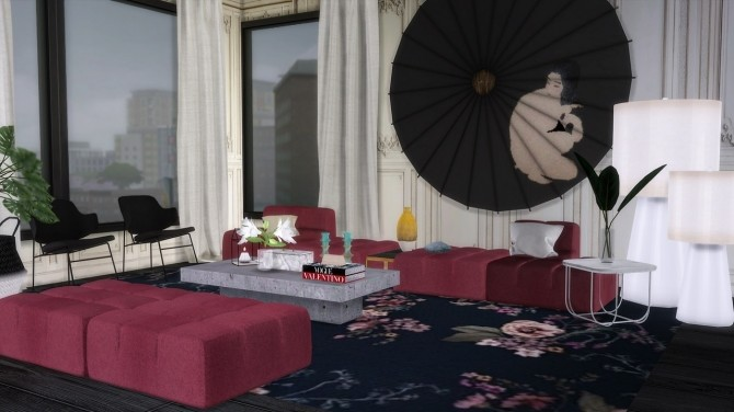 Sims 4 164 East 64TH Street apartment at The Huntington