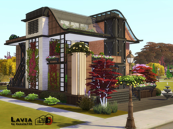 Sims 4 Lavia house by Danuta720 at TSR