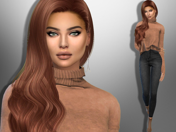 Sims 4 Helena Longoria by divaka45 at TSR