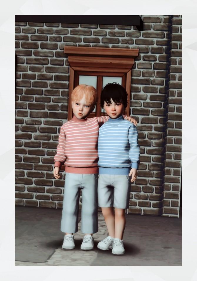 Sims 4 Turtleneck Sweater Toddler at Gorilla