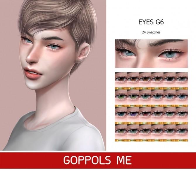 Sims 4 GPME Eyes G6 at GOPPOLS Me